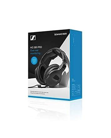 Sennheiser Headphones, Black HD 300 PROtect