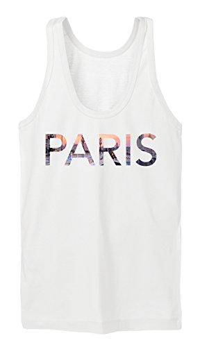 Paris Bridge Tanktop Girls Blanc