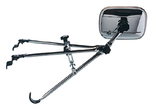 CIPA 11750, Fender Mount Towing Mirror (Chrome Fender Mount)