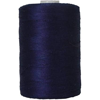 For Quilting 50 Colors Available and Serging 1000M Spools 50//3 Weight Threadart 100/% Cotton Thread NAVY Sewing Color DK