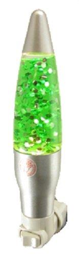 Mini Green Sparkle Light Night Light Glitter Motion Lamp Bedroom (Sparkle Night Light)