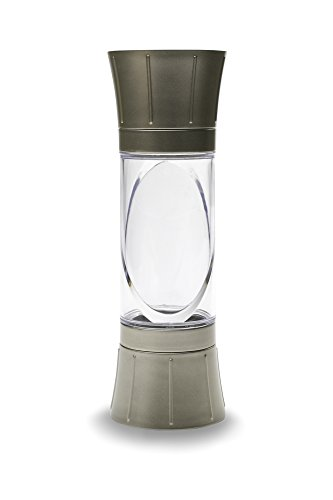 Kitchen Art 80310 Dual End Salt and Pepper Grinder, Satin