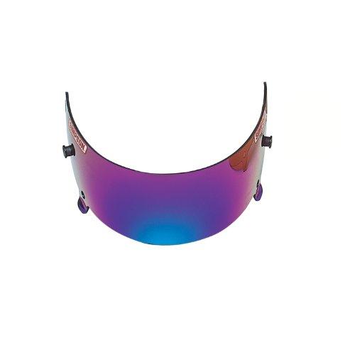 (Simpson Racing 88203 Voyager Shield-Iridium/Metalized Helmet)