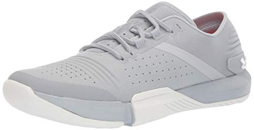 Under Armour Men's Speedform Feel Cross Trainer Sneaker, Mod Gray (102)/White, 9.5