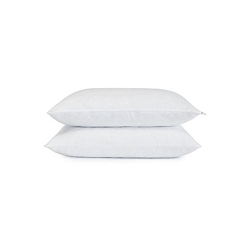 2 Serta Gel Memory Foam Pillow Set of 2 Micro Cushion Pillows Bundle