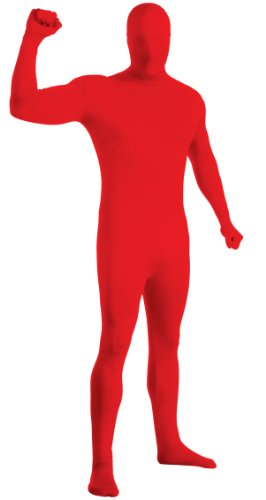 Rubie's Costume 2nd Skin Zentai Supersuit, Red, Medium Costume - Red Skin Suit