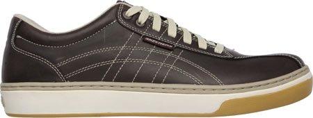 Zapatillas deportivas Skechers Hombre Palen Eleno, Marr�n oscuro