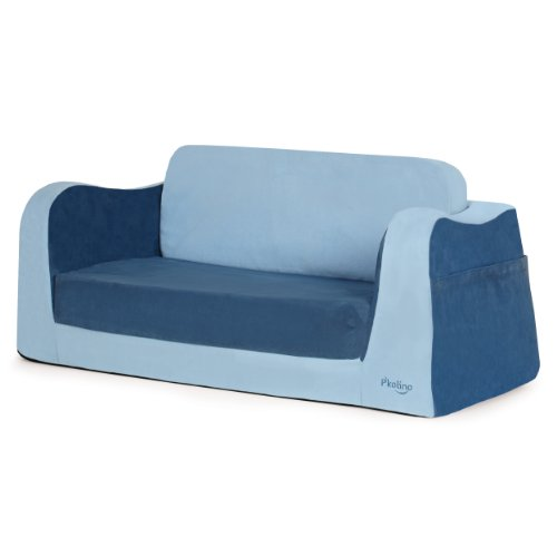 P'kolino Little Sofa / Sleeper in Blue by P'Kolino