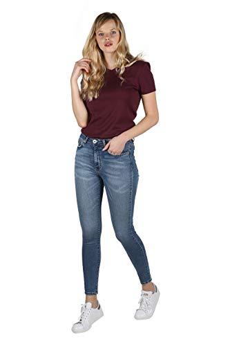 Skinny HW4 Rogen Bleu Jean Waist Pild Femme High qnnIwg4z