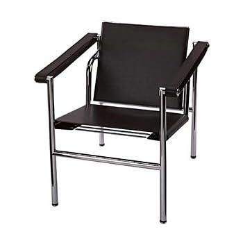Le Corbusier Black Basculant Arm Chair LC1   Alphaville Design
