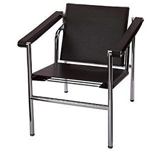 Amazon.com: Le Corbusier Black Basculant Arm Chair LC1 - Alphaville ...