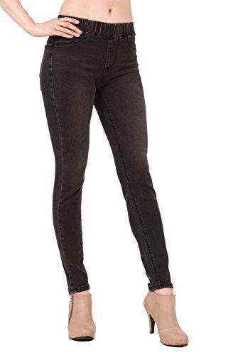 WeHeart Mascara Women Stretch Skinny Jeans Jeggings Pants New Black Jean Small