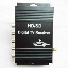 M-288X Portable ISDB-T Brazil (One Seg) Digital TV Box Signal Receiver 4 Video Output (Black)