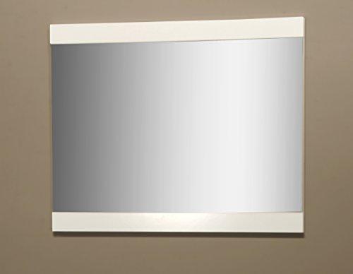 Spiegel Wandspiegel 7161 weiß 90 x 70cm Garderobenspiegel Flur Diele Bad
