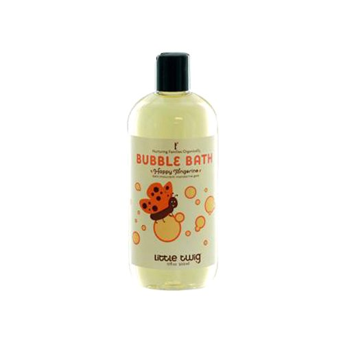 Little Twig All Natural Baby Bubble Bath, Happy Tangerine, 17 Fluid Ounce
