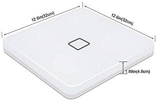 Öuesen Plafon Led de Techo, Lámpara de techo, 24W Plafon Techo LED IP44 Lampara Infantil Techo Blanco Natural 2050LM 4000K Lampara led para Baño ...