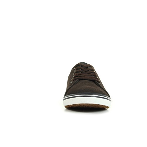 Fred Perry Kingston Suede Dark Chocolate B7448325, Deportivas