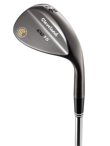 Cleveland CG15 Black Pearl Trac Tour Zip Wedge (Right Hand, Steel, 60 degrees)