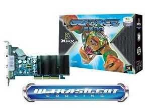 XFX TECHNOLOGIES PV T44A WANG XFX PV-T44A-WANG NVIDIA GeForce 6200 256MB GDDR2 AGP 4X/8X Video Card 256 Mb Gddr2 Graphics
