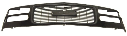 OE Replacement GMC Grille Assembly (Partslink Number GM1200357)