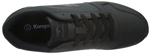 700 Basse B K 522 522 Grey Black bluerun Adulto KangaROOS Sneaker Unisex Dk Nero XEpwnS