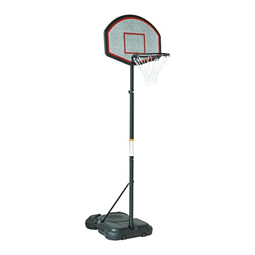 Aosom Adjustable Height Indoor/Outdoor Portable Basketbal...