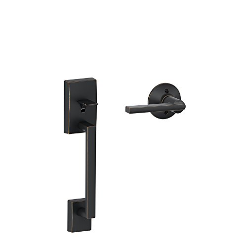 Century Front Entry Handle Latitude Interior Lever (Aged Bronze) FE285 CEN 716 LAT (Bronze Exterior Door Handles compare prices)