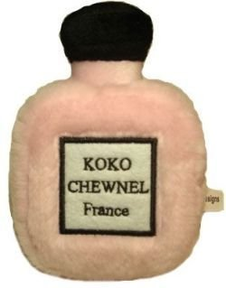 Koko Chewnel Perfume Plush Dog Toy