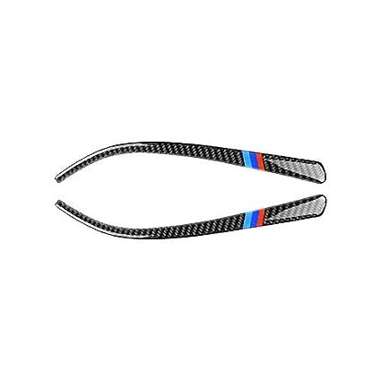 Pouybie Pegatinas Protectoras Coche de Espejo retrovisor anticolisi/ón Fibra de Carbono Pegatinas para Coche para BMW Serie 3 F34 2013-2017 1 Par 2013-2018 F30