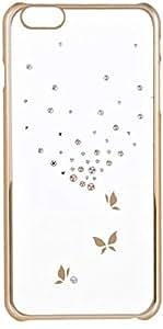 Kingxbar Atumn Series Crystal Back Case For iphone 6 Plus, Gold