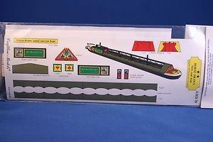OO Gauge Model Kit Craftline Models 70 Foot Horse-drawn Coal Narrow Boat