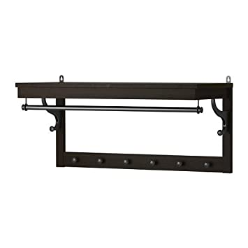 Ikea HEMNES - Sombrero Estante, marrón - 85 cm: Amazon.es: Hogar