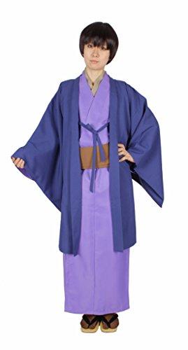 MILICA BOOKS Hetalia: Axis Powers Japan Honda Kiku Kimono Cosplay Costume Halloween Purple