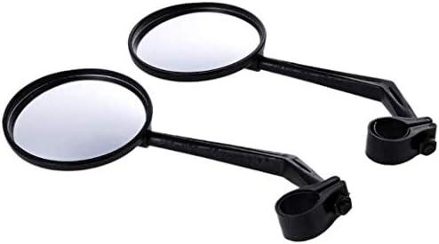 ミニバイクミラーリアビュー調整可能なハンドルバーメガネ回転調整可能なリアミラー回転ミラー、マウンテンロードバイク用