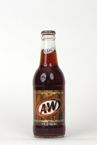 Glass 12 Soda Oz (A&W Root Beer Soda, 12 Ounce (12 Glass Bottles))