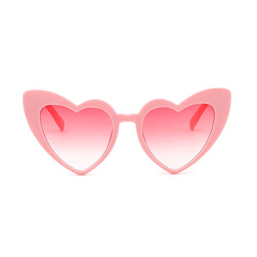 Pink Lunettes ADEWU en Soleil de Coeur de Forme vf01fqwd