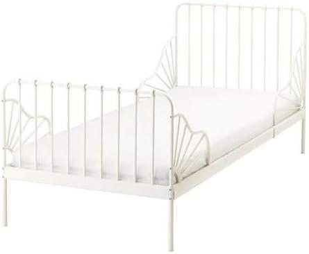 MINNEN IKEA Cama Extensible; sin Muelle, Estructura en Blanco ...