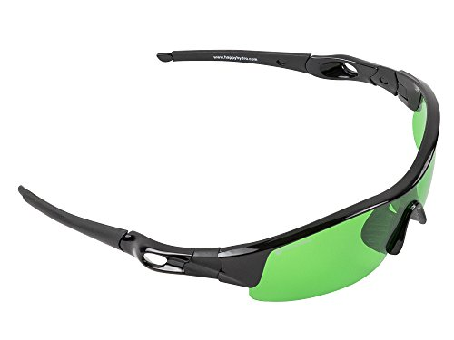 Happy Hydro LED UV Protective Glasses with Green Lenses for Grow Room Hydroponics by Happy Hydro (Image #4)