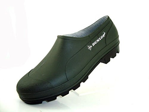 Gardening On Shoes Mens Wellies Cut Clogs Slip Womens Low Green Green Unisex Dunlop 1fYqX4