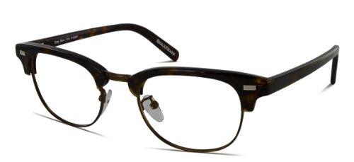 Benji Frank Grant Browline 1980s Classic Retro Vintage Club Eyeglasses Horn Rim Master - Frames Eyeglass Browline