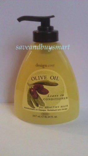 Regis Designline Olive Oil Leave in Conditioner for Healthy Hair 8.34oz (Africas Best Organics Olive Oil Leave In Conditioner)