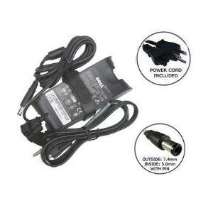 Dell 90W 19.5V Replacement AC Power Adapter Battery Charger (Inspiron 1720 English)