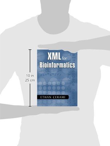 XML for Bioinformatics by Ethan Cerami