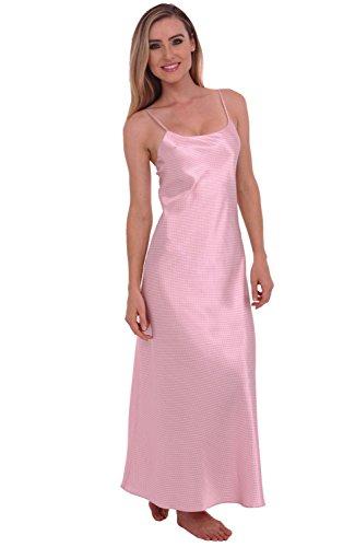 458e80637e Del Rossa Women s Satin Nightgown