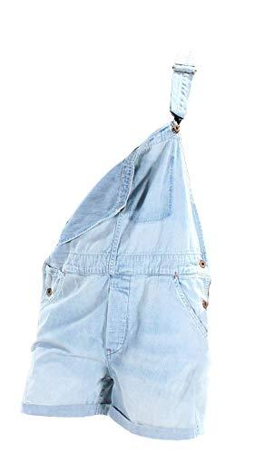 (Ralph Lauren Denim & Supply Women's Cotton Denim Overalls (Small, Light Blue) )