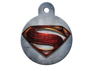 Super Hero Collection Licensed Personalized Custom Engraved Pet ID Tags! (Superman 2013) by Quick Tags