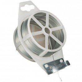 Rouleau de fil de fer galvanisé - 50 m - Ø 0.7 mm CIS