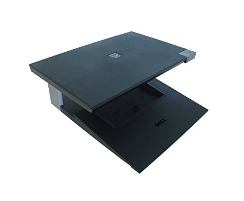 Genuine Dell W005C, J858C E-CRT Monitor Stand and Laptop Dock For Latitude E4200, Latitude E4300, Latitude E5400, Latitude E5500, Latitude E6400 / 6400ATG, Latitude E6500, Precision M2400, Precision M4400, Precision M6400 Dell Compatible Part Numbers: W00 by Dell