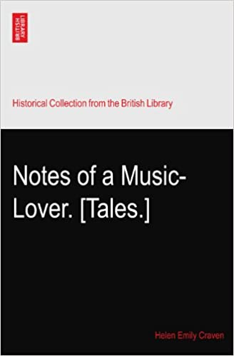Book Notes of a Music-Lover. [Tales.]