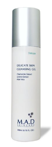 M.A.D Skincare Delicate Skin Cleansing Gel - Extra Gentle 6.75 oz.